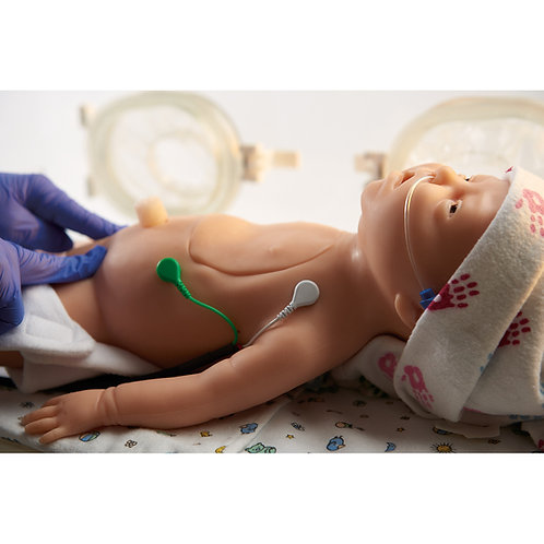 C.H.A.R.L.I.E. Neonatal Resuscitation Simulator with Interactive ECG Simulator