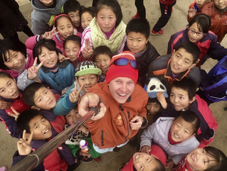 Love Panda's Global Brand Ambassadors Silk Walk Expedition Team