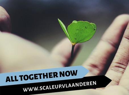 Scaleup Vlaanderen slaat handen in elkaar met imec.istart