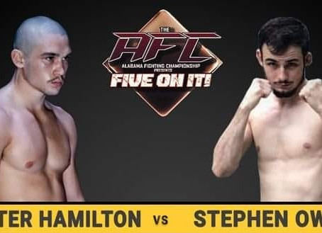 "Hunter ""The Hitman"" Hamilton Wins at AFC Five On It"