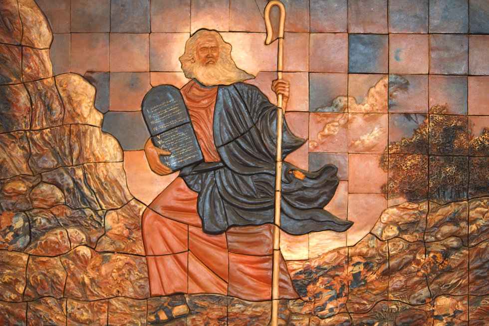 Moses was a prophet in the Abrahamic rel