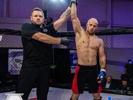 Florence BJJ's Tyler DeClue Wins Strikehard 55 in 39 Seconds