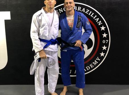 Hunter Waldman Earns Blue Belt