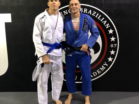 Hunter Waldman Earns Blue Belt
