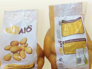 Le nuove confezioni per le Patate Pataiò