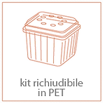 kit richiudibile in PET