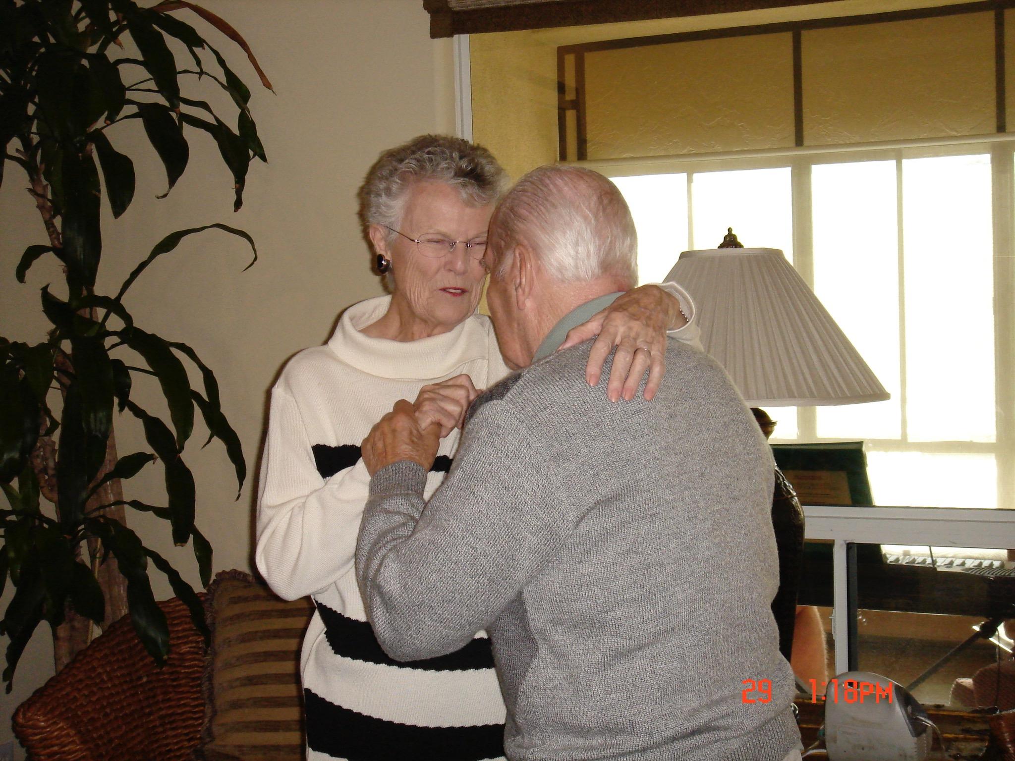 Pat & Harvey Dancing