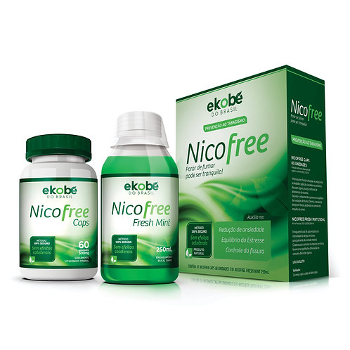 NICOFREE Kit Anti-Tabagismo
