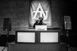 Djing for Adelphi University