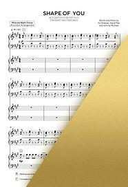 ED SHEERAN - SHAPE OF YOU   Accordion Sheet Music   Ноты для аккордеона и баяна