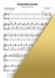 INDILA DERNIERE DANSE | Accordion Sheet Music | Ноты для аккордеона и баяна