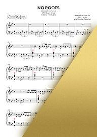 NO ROOTS - ALICE MERTONWALTZ NO.1 - MOSCOW NIGHT GROUP   Accordion Sheet Music   Ноты для аккордеона и баяна