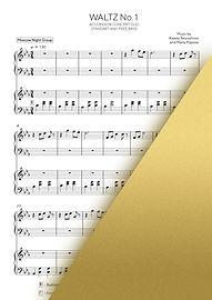 WALTZ NO.1 - MOSCOW NIGHT GROUP | Accordion Sheet Music | Ноты для аккордеона и баяна