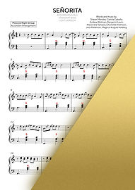 SENORITA - SHAWN MENDES AND CAMILA CABELLO   Accordion Sheet Music   Ноты для аккордеона и баяна