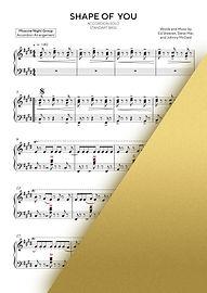 ED SHEERAN - SHAPE OF YOU | Accordion Sheet Music | Ноты для аккордеона и баяна