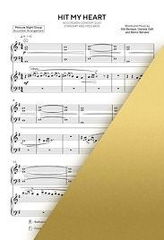 BENNY BENASSI - HIT MY HEART   Accordion Sheet Music   Ноты для аккордеона и баяна