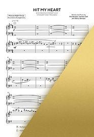 BENNY BENASSI - HIT MY HEART | Accordion Sheet Music | Ноты для аккордеона и баяна