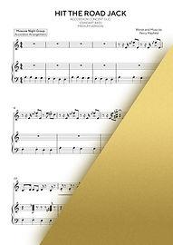 RAY CHARLES - HIT THE ROAD JACK   Accordion Sheet Music   Ноты для аккордеона и баяна