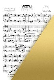 VIVALDI - SUMMER - ВИВАЛЬДИ - ЛЕТО | Accordion Sheet Music | Ноты для аккордеона и баяна | Moscow Night Group