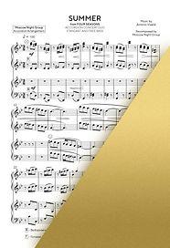 VIVALDI - SUMMER - ВИВАЛЬДИ - ЛЕТО   Accordion Sheet Music   Ноты для аккордеона и баяна   Moscow Night Group