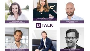 """D-Talk: """"Status Krise: Was Startups jetzt brauchen, um zu überleben"""""""
