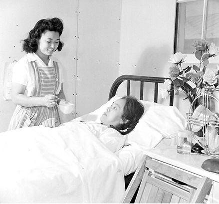 Block 11 Mrs Hide Uyeda Poston hospital.