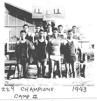 Block 229 Basketball Team Champions 1943