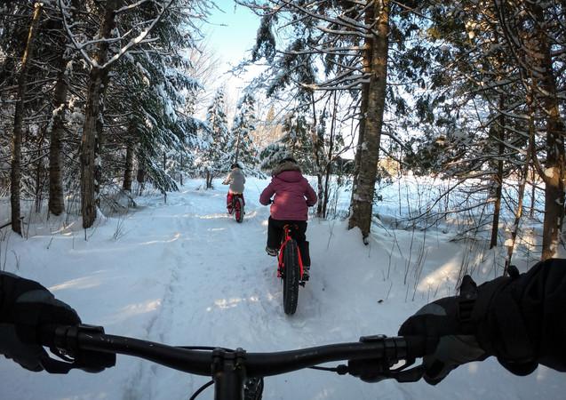 Le vélo c'est merveilleux, été comme hiver