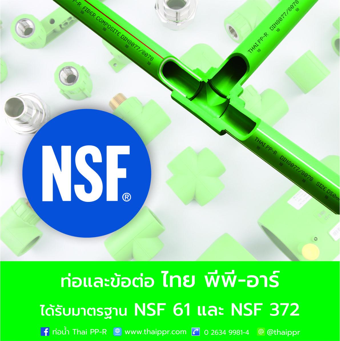 Thai PPR ได้มาตรฐาน NFS