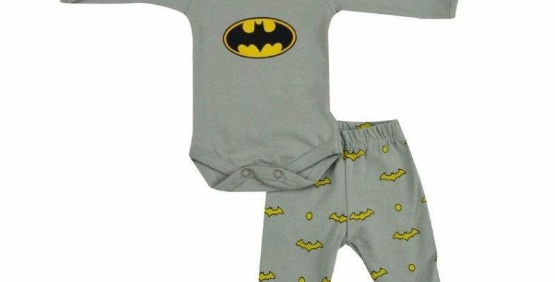Conjunto Body e Culote Prematuro Batman - Get Baby