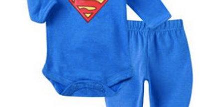 Conjunto Body e Culote Prematuro Superman - Get Baby