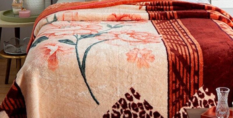 Cobertor Casal Kyor Plus Lizzie   Jolitex