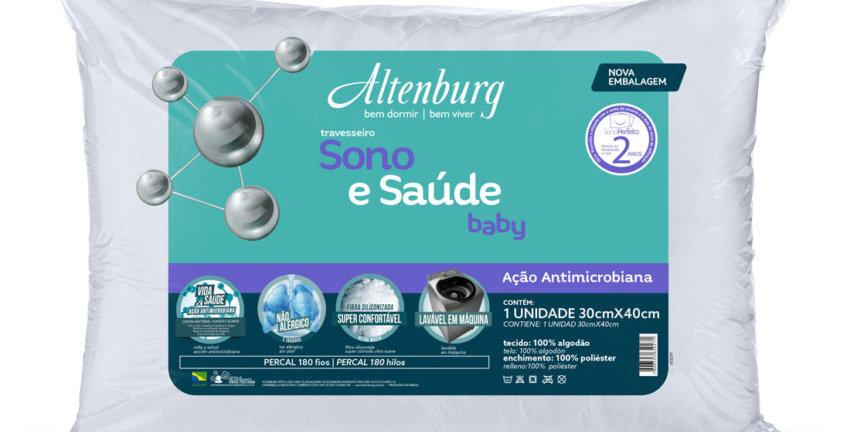 Travesseiro Sono e Saúde Baby 30x40cm | Altenburg
