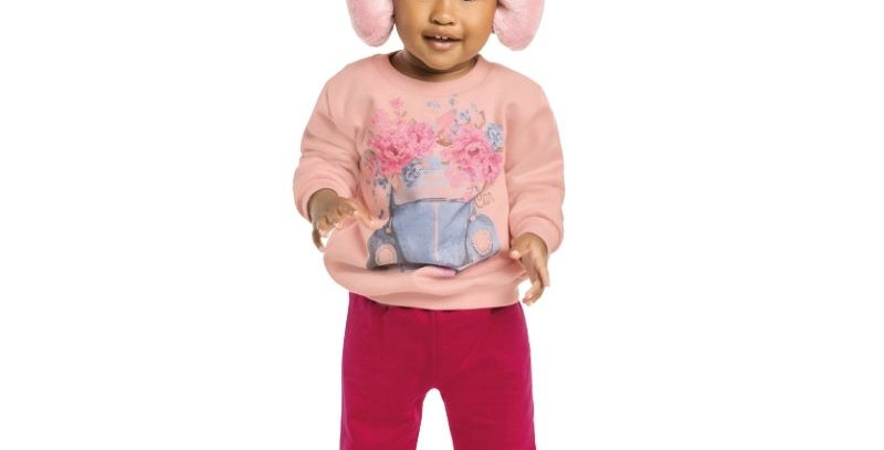 Conjunto Moletom Infantil Fusca Menina | Kaiani