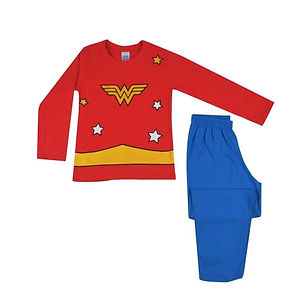 Pijama Mulher Maravilha Get Baby frente