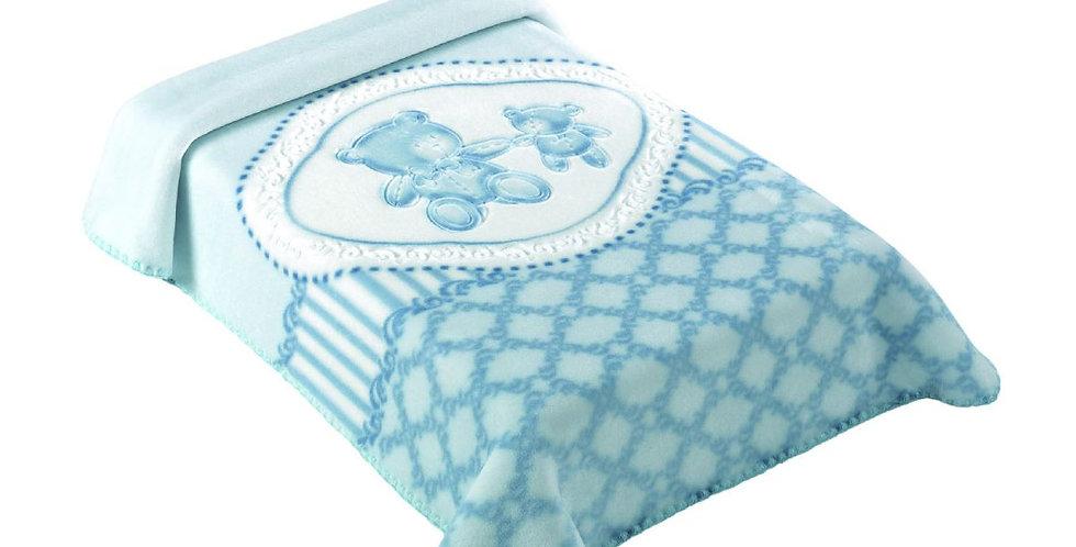 Cobertor Premium Estampado Classic Verde Colibri