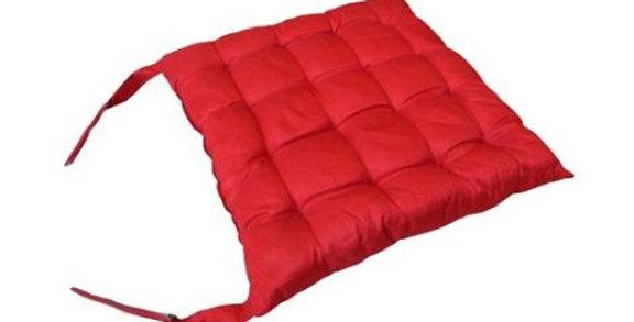 Almofada Futon Harysh Vermelha 40 X 40cm Til Oriente