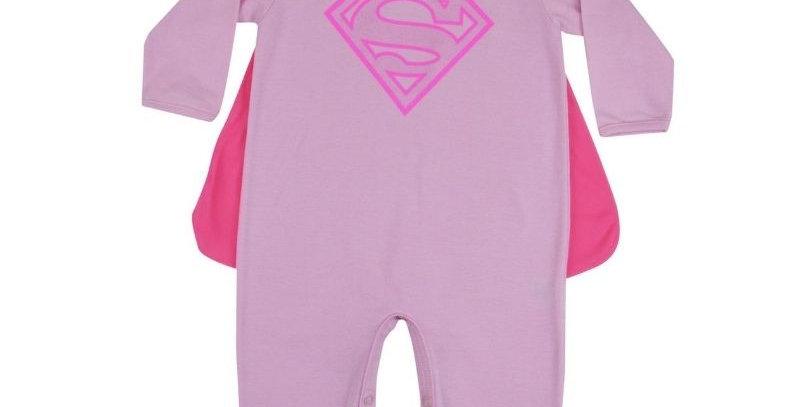 Macacão Fantasia Super Girl - Get Baby
