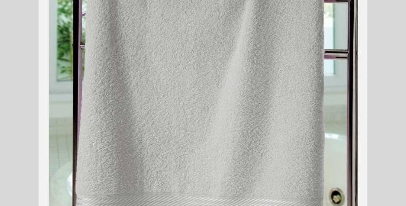 Toalha Banho Felpudo Prisma Liso Cinza | Dohler
