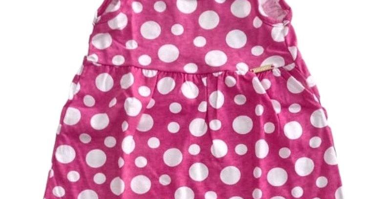 Vestido Bebê Bolas Pink | Hrradinhos
