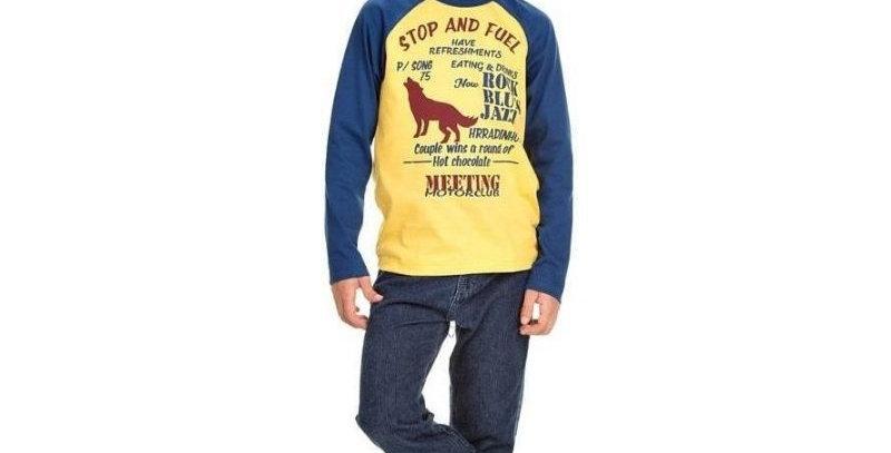 Camiseta Infantil Masculina Cachorro - Hrradinhos