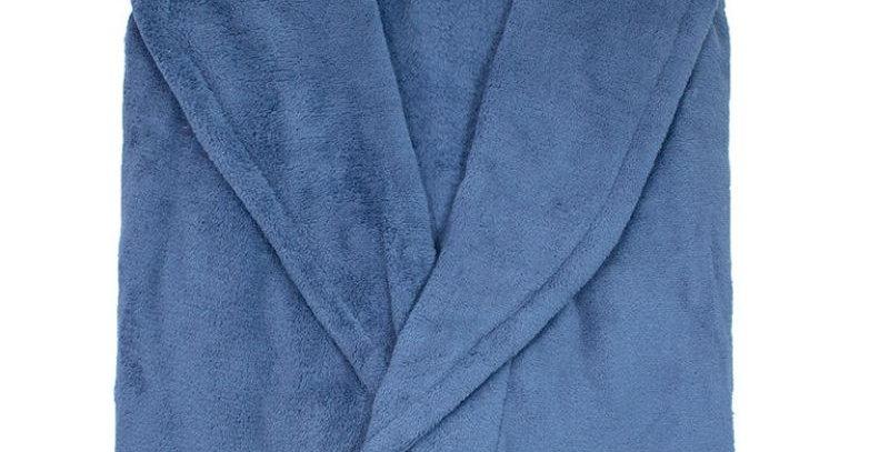 Roupão Microfibra Azul Marinho | Camesa