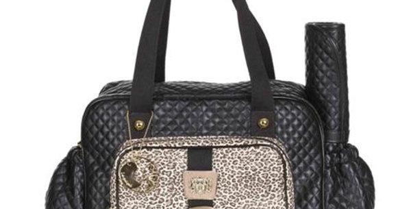 Bolsa Maternidade Grande - Leopard Lequiqui