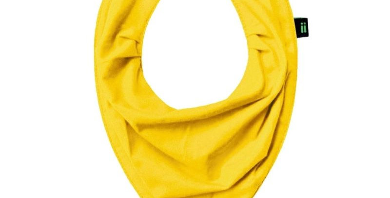 Babador Bandana Gumii Amarelo Sol