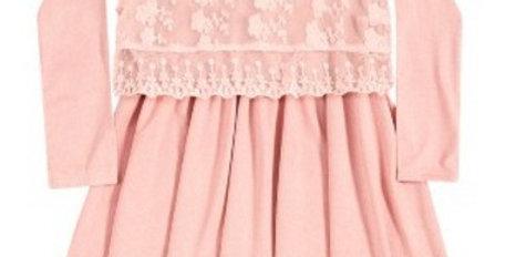 Vestido Infantil Milon Coral