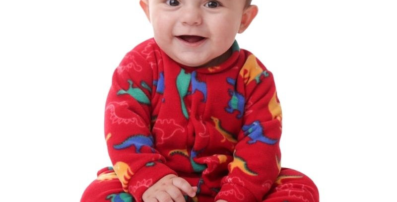 Macacão Soft Dino Bebê | Piu Blu