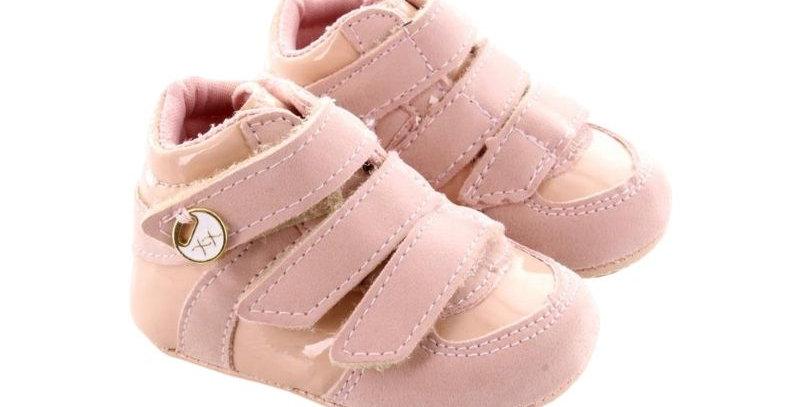 Tênis Snekers Femino Baby Rosê - Xuá Xuá