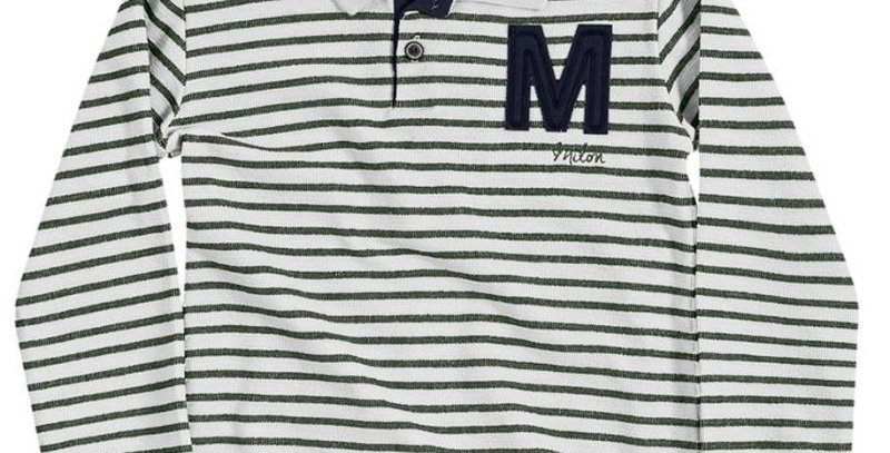 Polo Infantil Masculina Manga Longa M16 - Milon