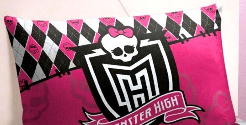 Fronha Monster High 50cmx70cm Lepper