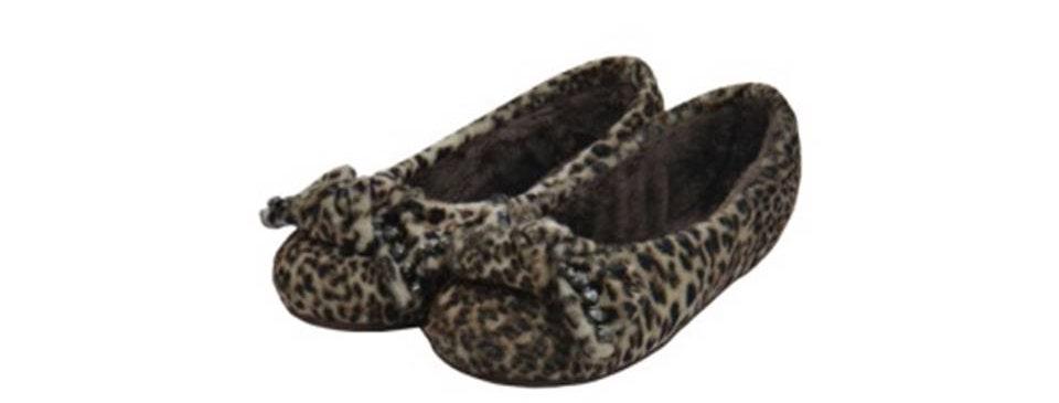 Pantufa Sapatilha Glam Leopardo